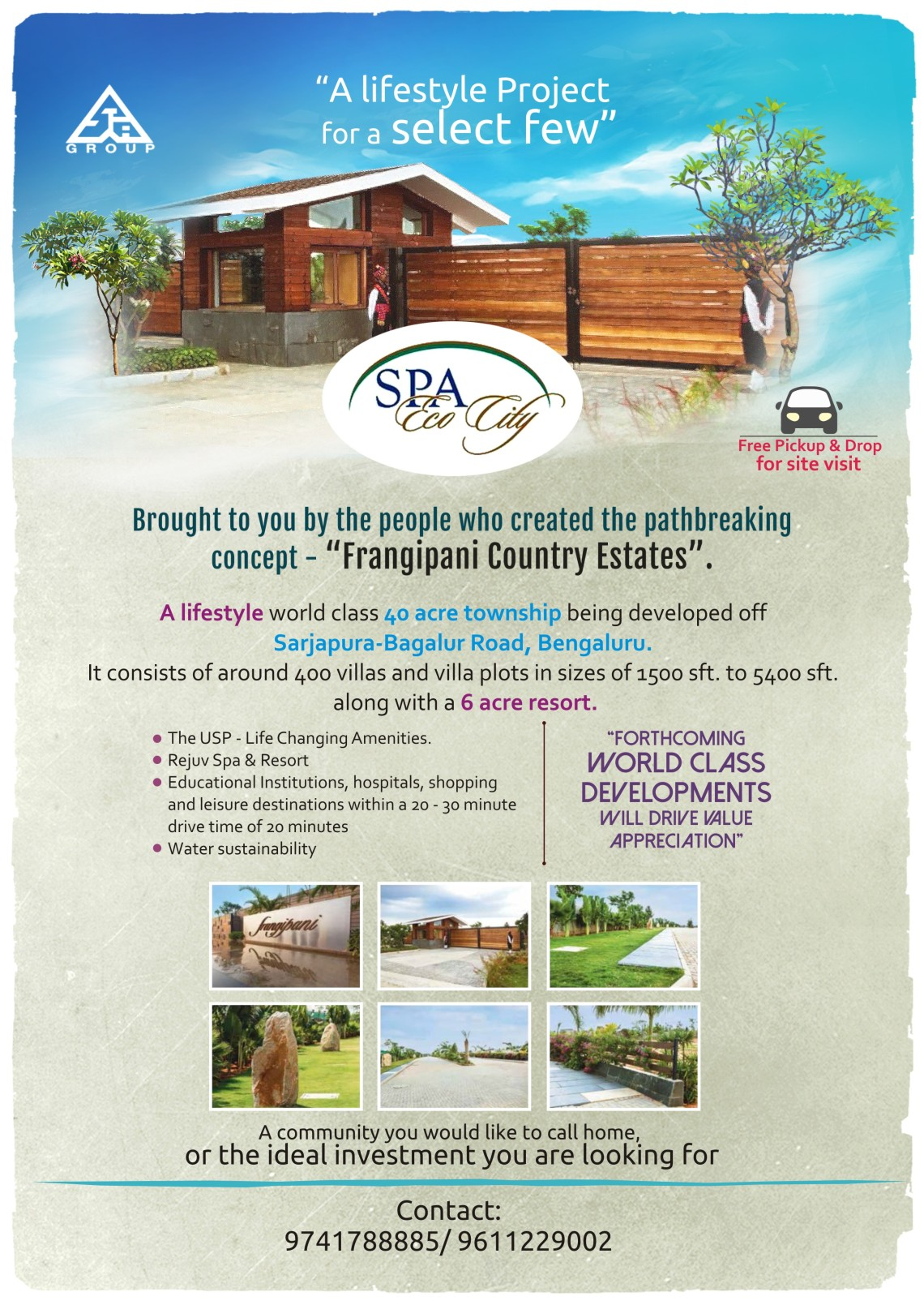 Spa Eco city mailer