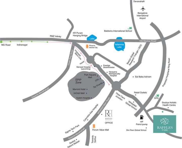 raffles-park-map