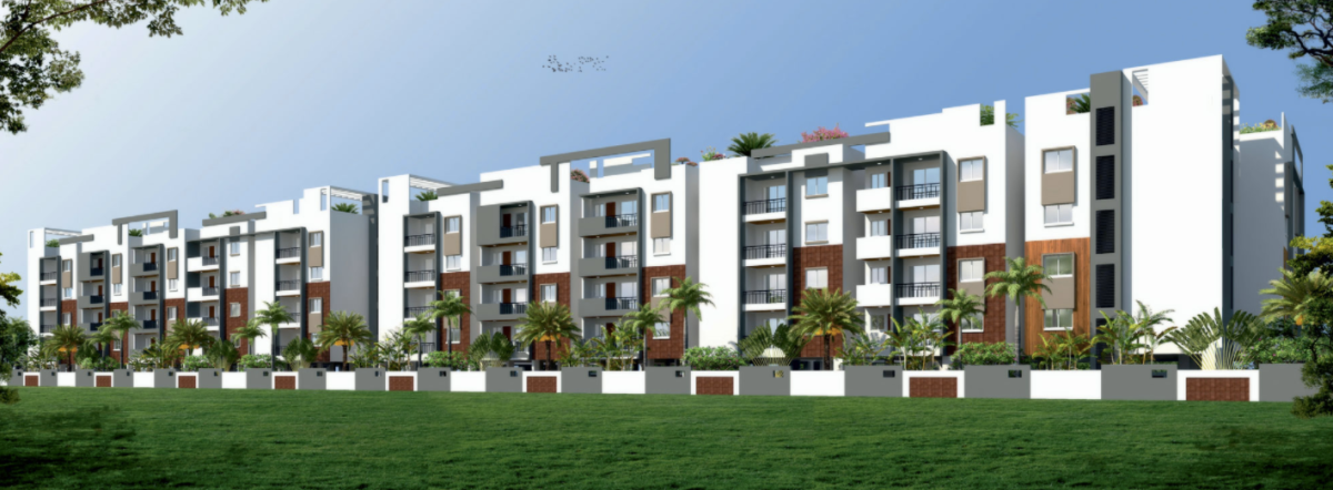 GCN Brindavan | 2 & 3 BHK Apartment, Whitefield | Rs. 36 L onwards