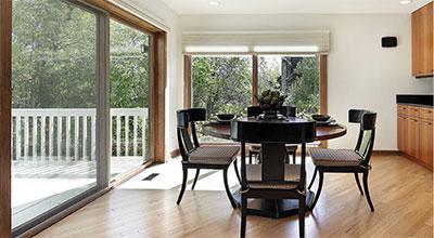 Living Room + Deck