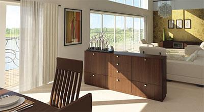 Luxury Suite - Dining & Living Room